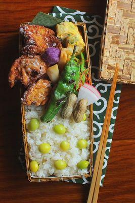 車麩の唐揚げ弁当 | 日本の片隅で作る、とある日のお弁当