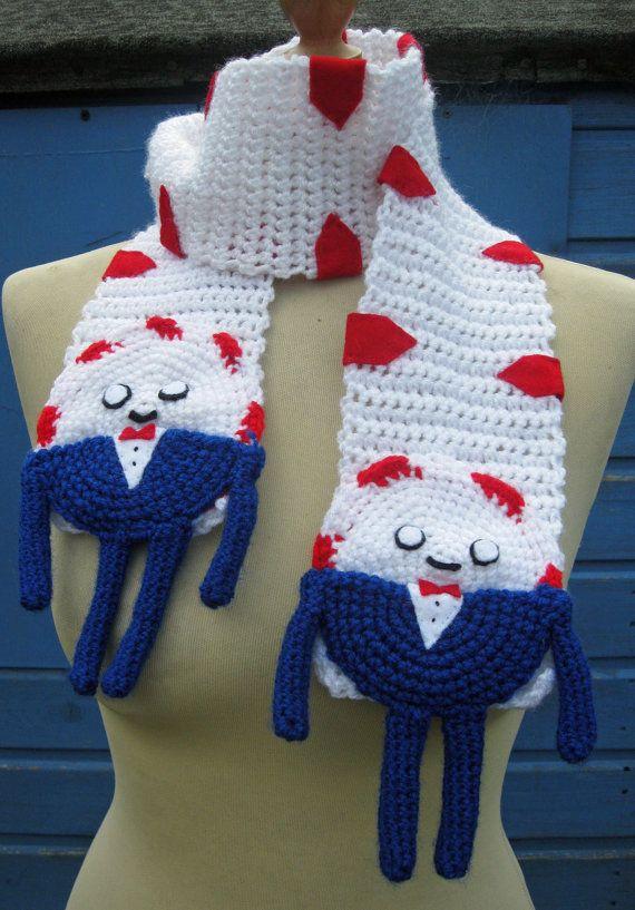 Crochet Peppermint Butler from Adventure Time by twixtseaandpine, $30.00