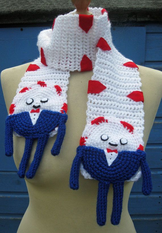 Crochet Peppermint Butler from Adventure Time by twixtseaandpine, $30.00