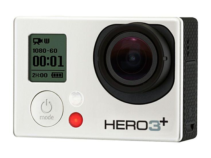 Videocámara Go Pro Silver Edición Hero 3 Plus