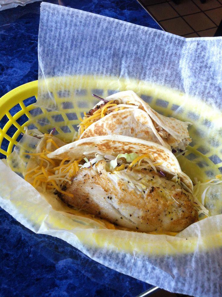 The famous el rey fish taco menu items pinterest for Fish taco menu