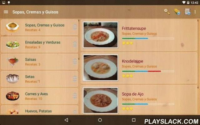 My Cookery Book (Trial)  Android App - playslack.com , The ultimate application to manage all your recipes.(Recipe Organiser)· The operation of the application is very simple and intuitive, no complicated data entry screens or foreign concepts to learn. · Preferences set by the size most appropriate to your source device, and the wallpaper that you like. It also has a handy timer that will help you in preparing your recipes. · Create recipe categories as you need them and those sort them as…