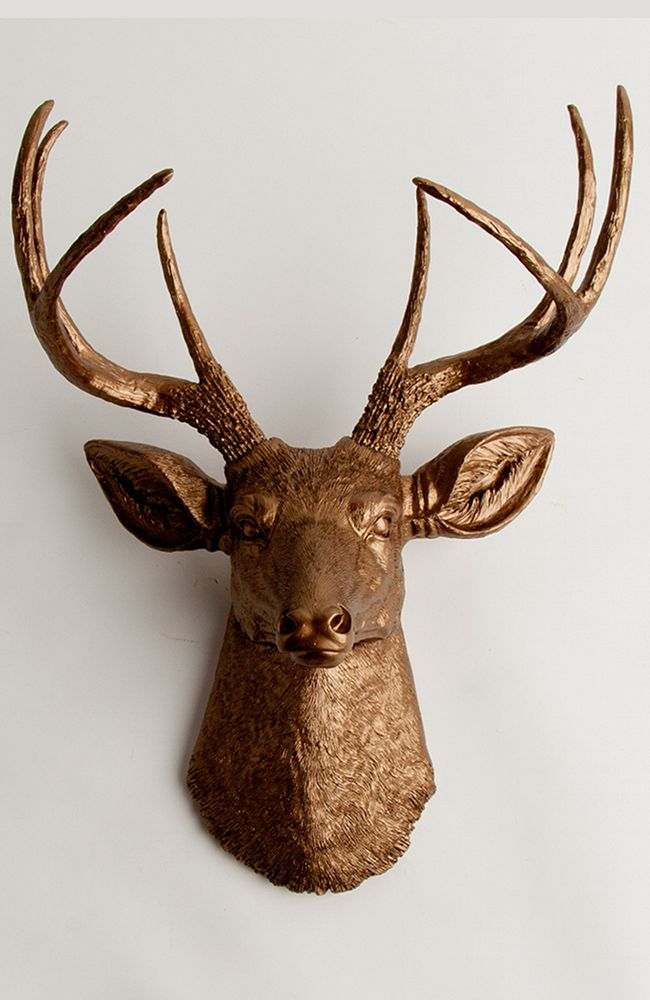 1000 Ideas About Faux Deer Head On Pinterest Deer Heads