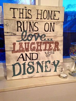 Rustic Disney inspired wall hanging made by SparklesandPixieDust