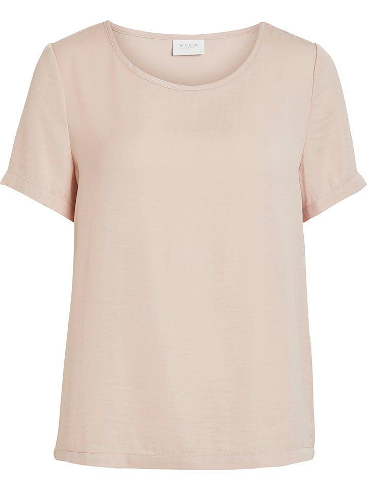 Vila Shirt Elli In Altrosa In 2020 Shirts Altrosa Und Rosa