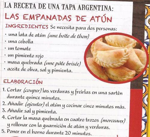La receta de las empanadas argentinas