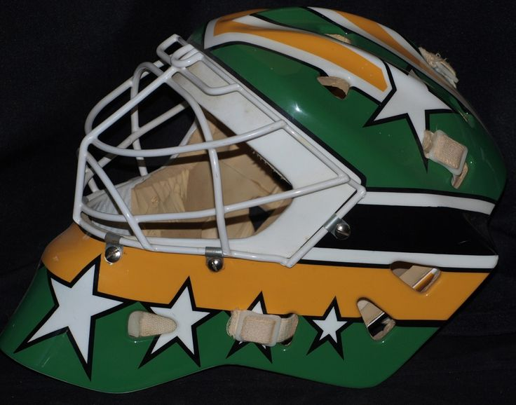 Don Beaupre Goalie Mask - Practice Used 87-88