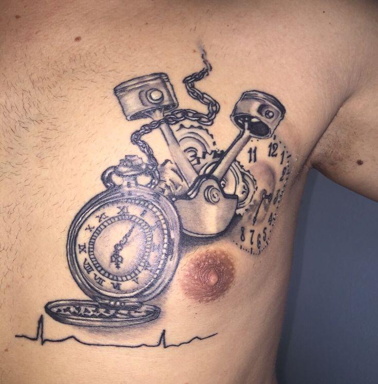 Taschenuhr Kolben Tattoo jetzt neu! ->. . . . . der Blog für den Gentleman.viele interessante Beiträge  - www.thegentlemanclub.de/blog