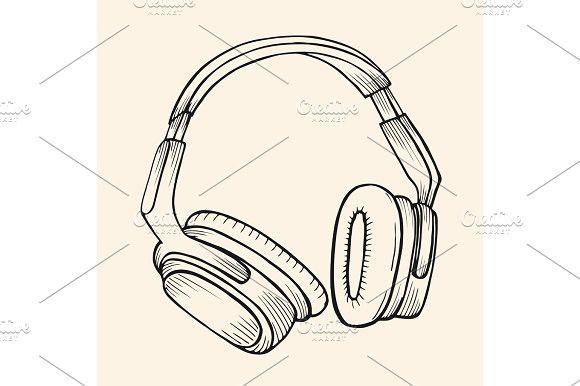 Sketch Circumaural Headphones. Best Objects