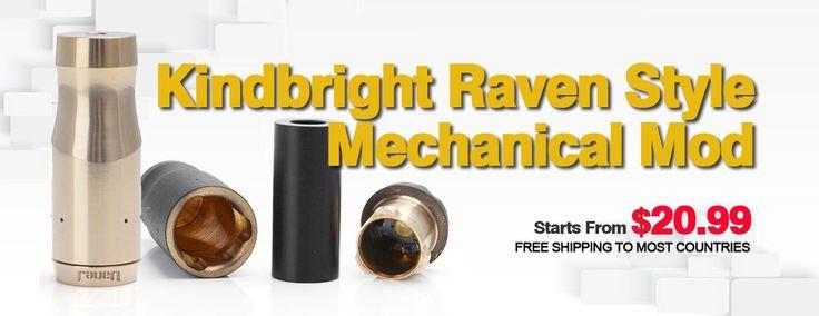 Kindbright Raven Style Mechanical Mod - 3FVAPE
