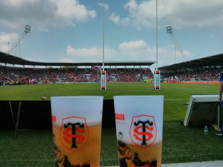 Stade Ernest Wallon à Toulouse