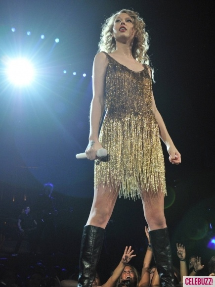 Taylor Swift. this is like my exact seat from the concert