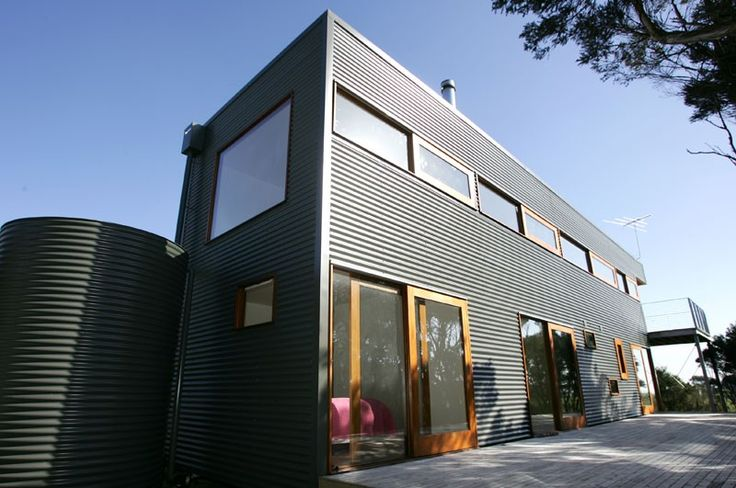 Walling made from COLORBOND® steel