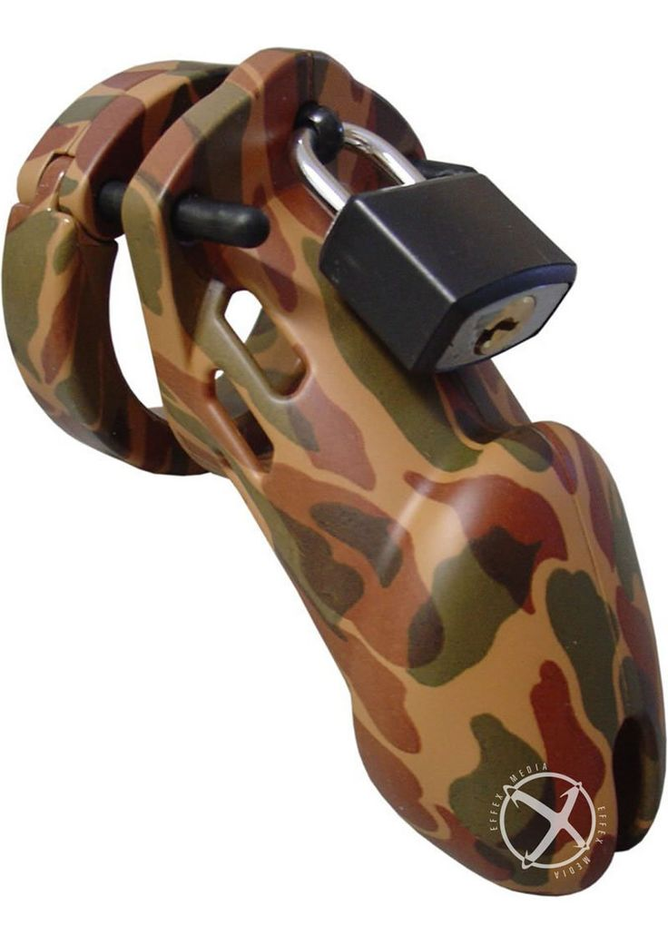 C B 6000 Designer Collection Male Chastity Device Camouflage Finish from www.mysextoydeals.com