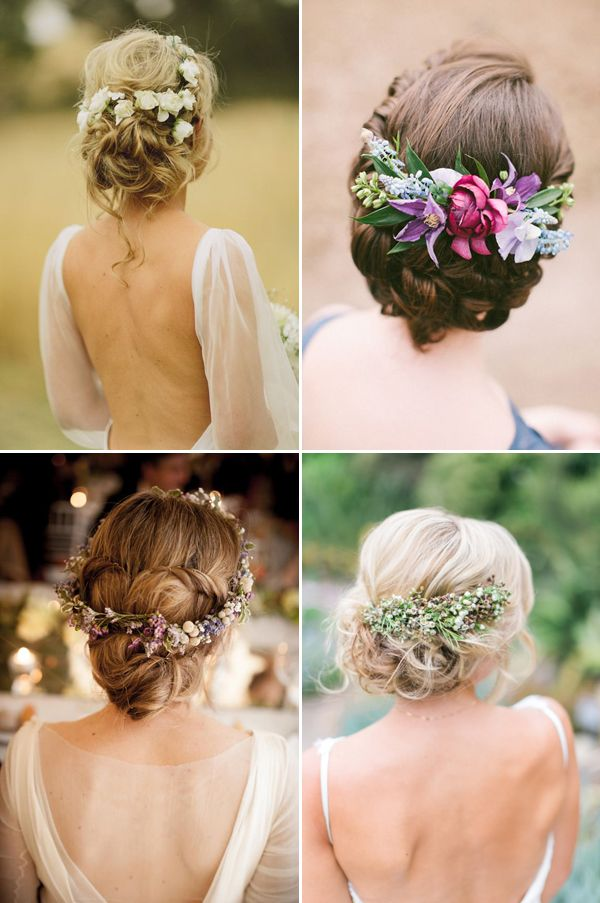 Bridal Updo Flower : Best ideas about natural wedding hairstyles on