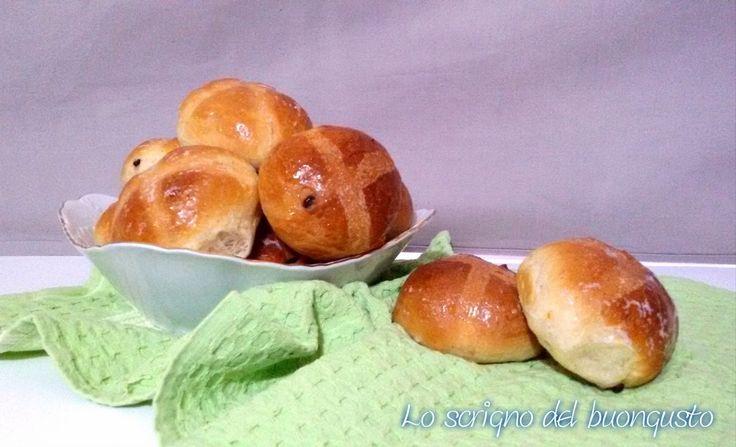 Hot+cross+buns+con+gocce+di+cioccolato