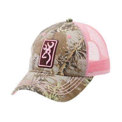Conway Cap, Realtree Max-1/Pink