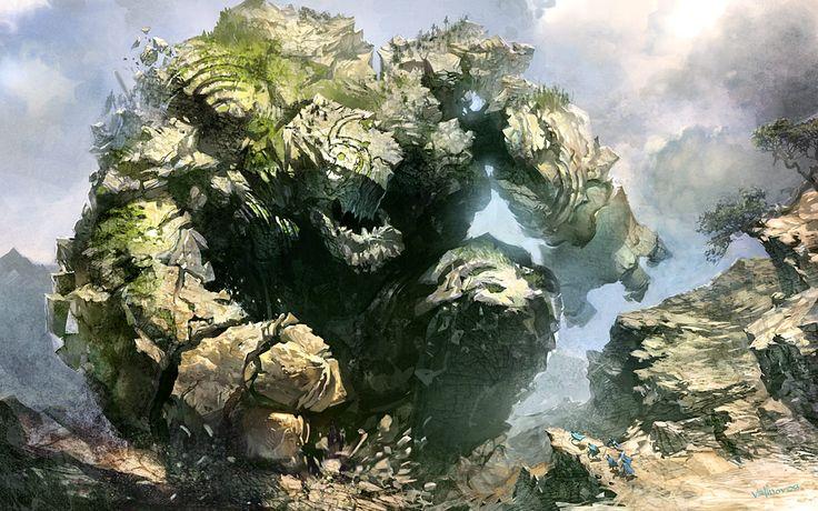 stone creatures