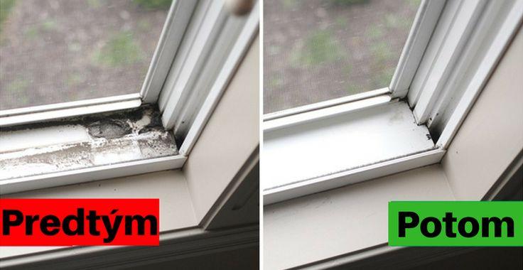 Mala som problém vyčistiť špinavé škáry na plastových oknách. Tento trik od kamarátky to ale vyriešil | Chillin.sk