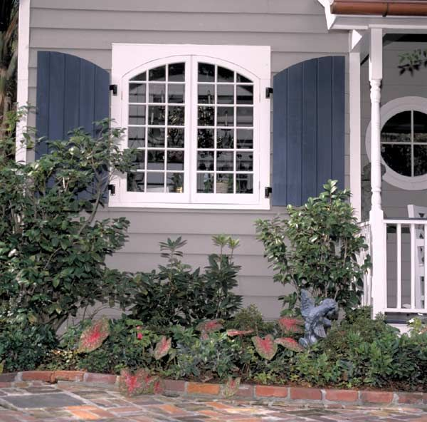 113 best images about window shutters on pinterest white for Country shutters exterior