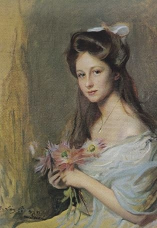 Princess Viktoria Luise in a portrait by Philip de László