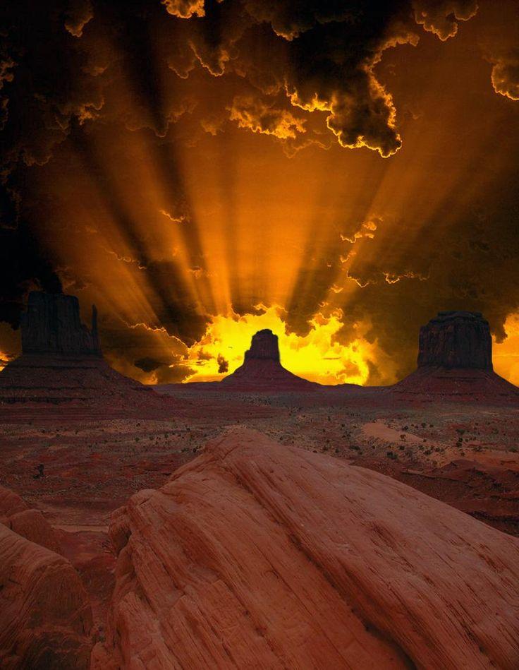 Arizona sunset.                                                                                                                                                                                 More