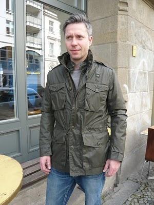 BLAUER >>> Mens Outdoor Jacket, grey  >>> 499,90 Euro
