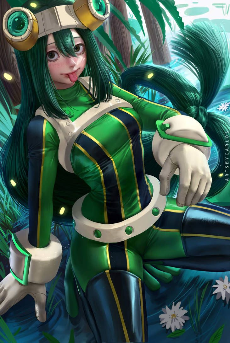 Froppy By Artsbycarlos My Hero Academia Tsuyu Hero Girl My Hero