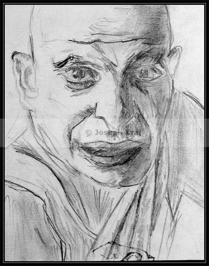 Kojak -  graphit pencil draw