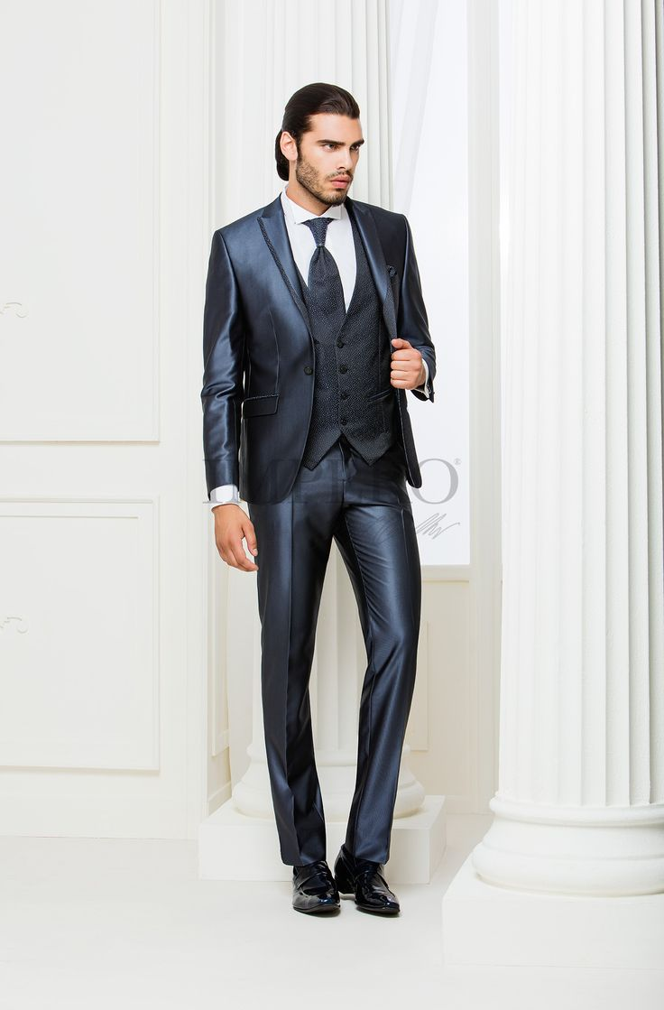 NO 4217-16  #sposo #groom #suit #abito #wedding #matrimonio #nozze #blu #blue