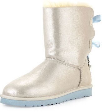 Ugg I Do Bailey Bling Bow Boot White Women S Shoes