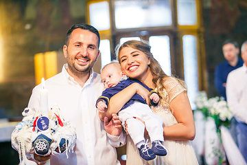 Photo from BOTEZ ~ Stefan Alexandru  Happy godmother and godfather