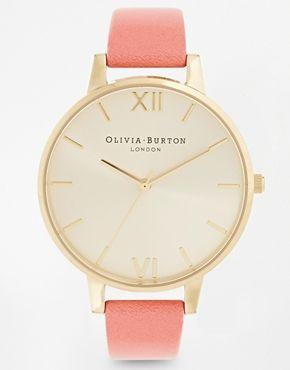 Olivia Burton Big Dial Coral Watch