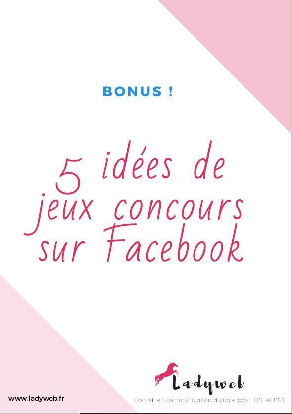 Comment Organiser Un Jeu Concours : comment, organiser, concours, Comment, Organiser, Concours, Facebook, LadyWeb, Facebook,, Concours,, Idée