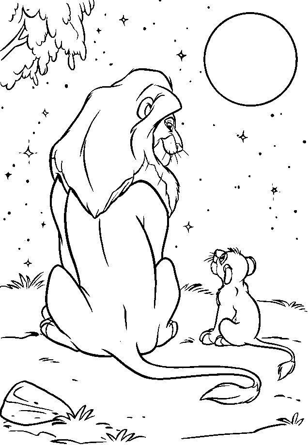 Lion King Coloring Pages Lion Coloring Pages Lion King Drawings