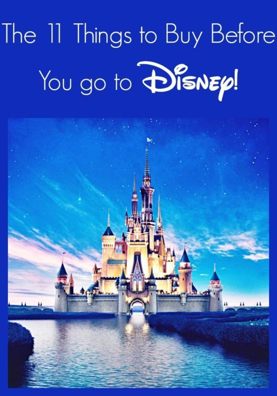 Disney destinations are some of America's favorite family vacations! If visiting one of the theme parks is on your list this year then you know how quickly the costs will add up. In order to save yourself a bit of money, have you thought of getting some of the shopping out of the way before you arrive? Read on and as eBay shares a list of items that you can bring with you to stretch your vacation dollars further!