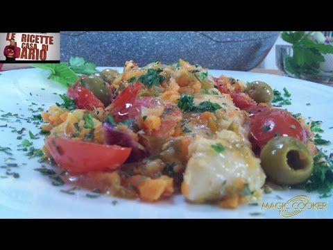 Filetti di Pesce Persico con pomodori datterino e olive preparati da Dario con Magic Cooker 304 - YouTube