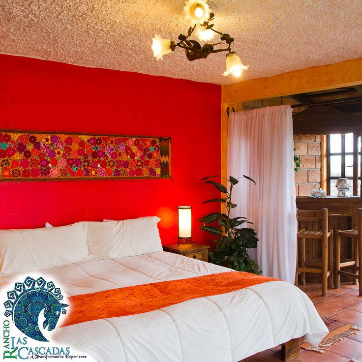 Rooms at rancho are designed to reflect the color of mexican life… http://rancholascascadas.com/