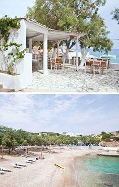 THE TRAVEL FILES: BEACH HOUSE ON ANTI PAROS, GREECE   THE STYLE FILES