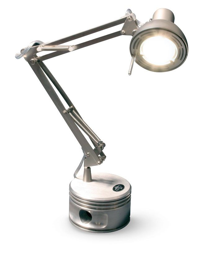 Radial Engine Piston Lamps