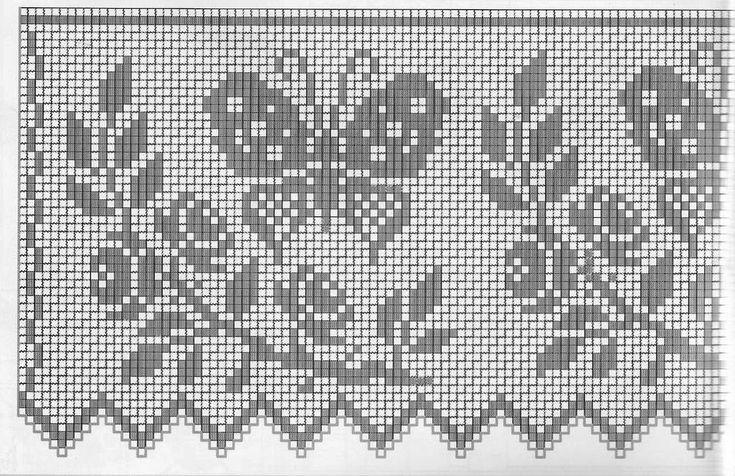 Филейное вязание(много схем). Обсуждение на LiveInternet - Российский Сервис Онлайн-Дневников