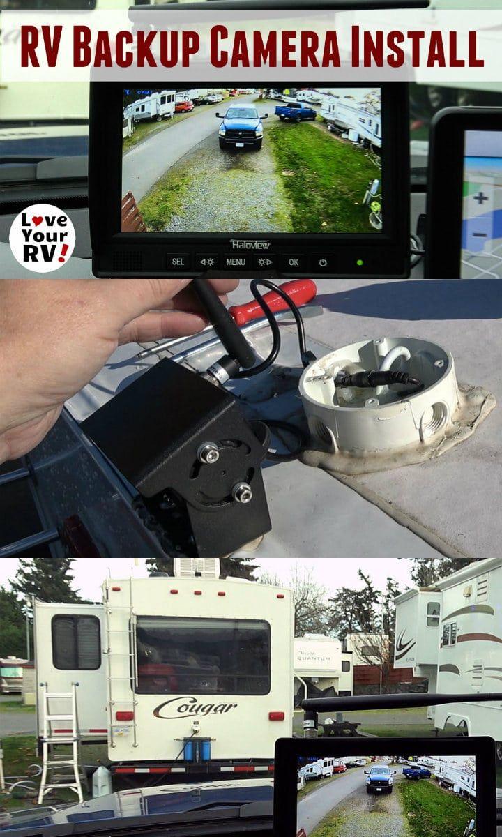 Trailer Backup Camera Wiring Schematic Diagram