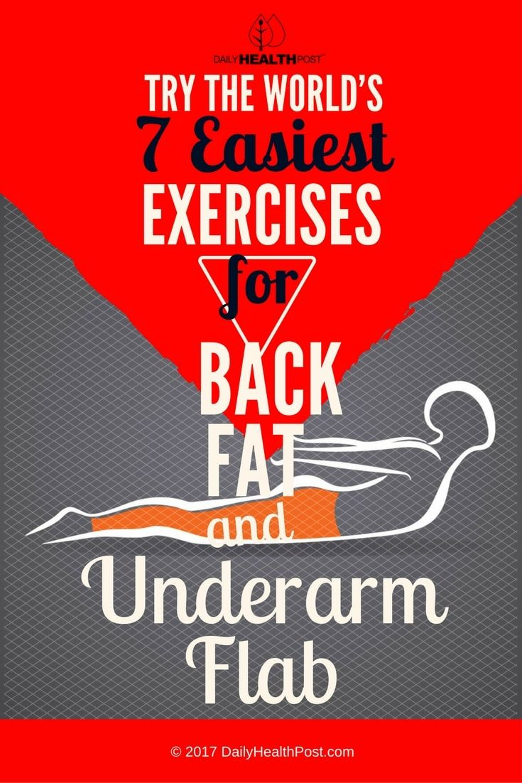Back fat and underarm flab are some of the most challenging areas of the body to tone.