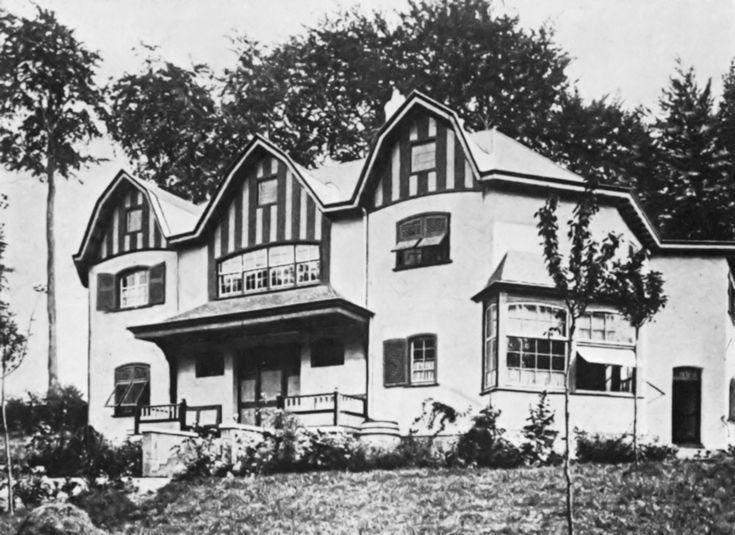 Bloemenwerf house - Henry Van de Velde - 1896