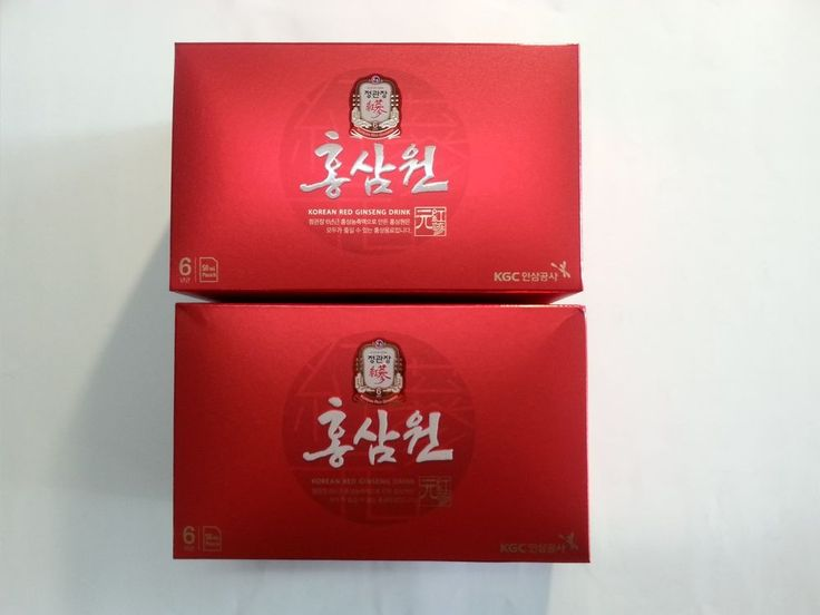 New 6 Years Root Korean Red Ginseng Korean Natural Health Drink 10+10Packs #CheongKwanJang