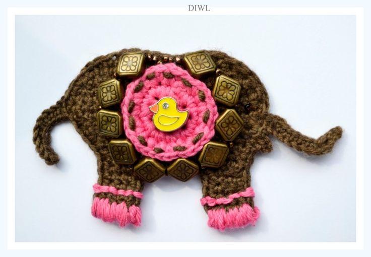 422 Best Images About Crochet Elephants On Pinterest