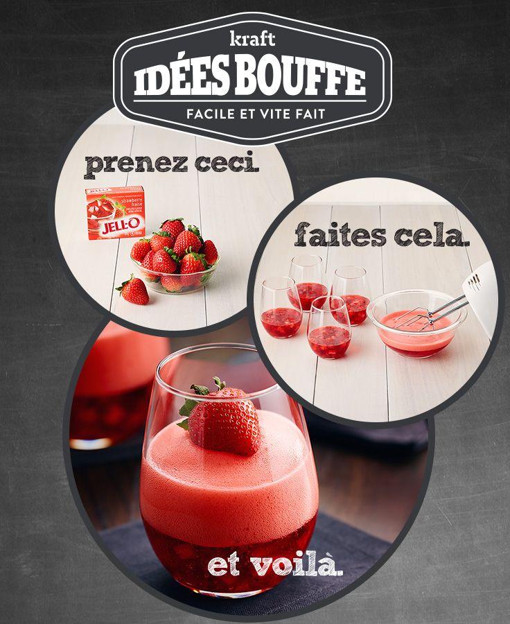 Bulles aux fraises #recette