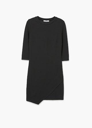 Vestido desenho cruzado | MANGO
