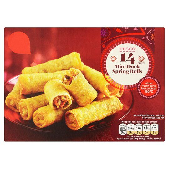 #Tried for free via #OrchardatTesco (orchard.tesco.com) Party food, 3 for 2 at the mo.All #Tesco party food cooks at the same temp, so if you're not Fanny Craddock... :) Sign up and give it a go, or just go and buy them~they're worth it. #Tesco