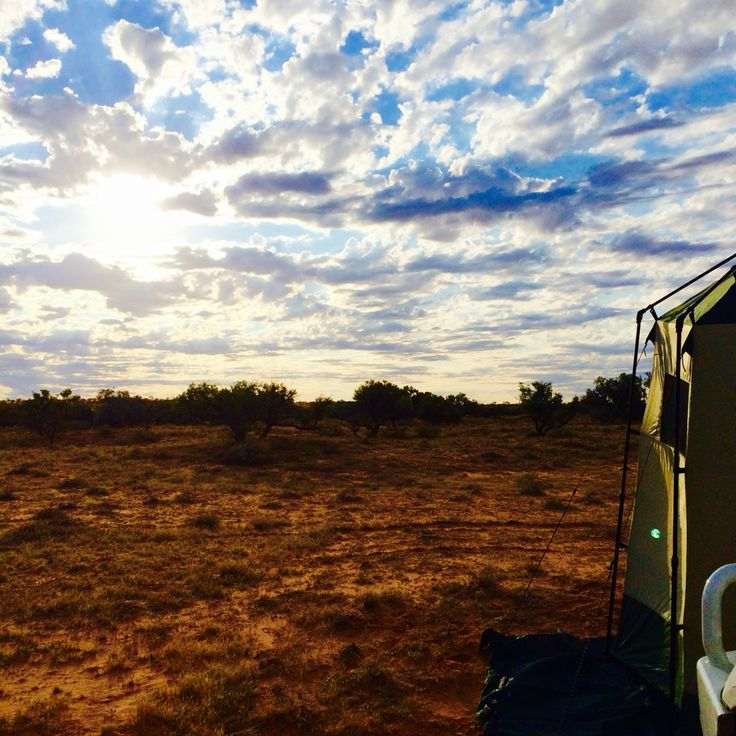 Camping in the Simpson Desert
